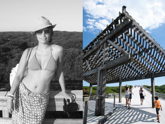 Johanna Björk: 100810: Fire Island Camping: The Beach