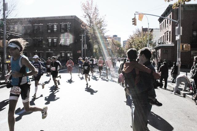 Concrete Flower: 101108: NYC Marathon
