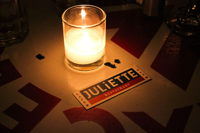 Concrete Flower: 101109: Sunday Date at Juliette