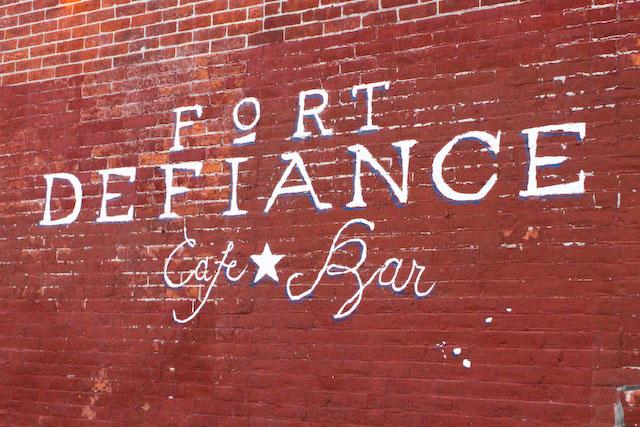 Concrete Flower: 101128: Fort Defiance