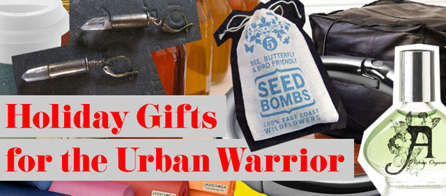 Concrete Flower: 101206: Holiday Gifts for the Urban Warrior