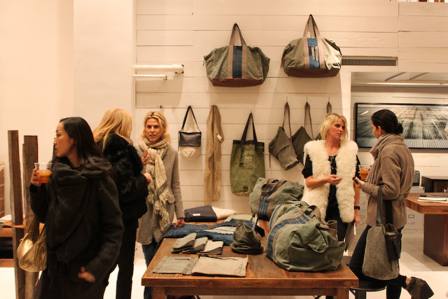 Concrete Flower: 101220: Bags, More Bags & Swedish Army Fabric