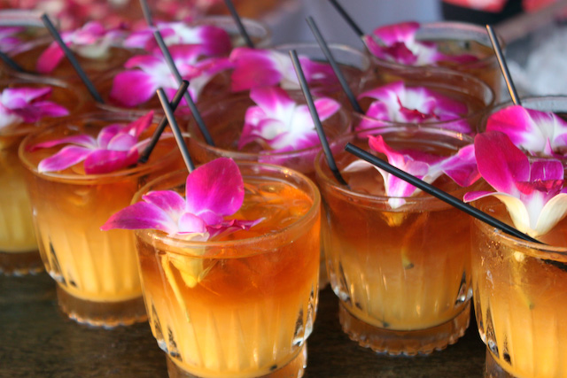 Concrete Flower: 110222: Mai Tais, Poke & Health Food