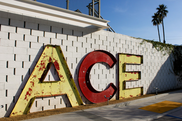 Concrete Flower: 110307: The Ace Palm Springs
