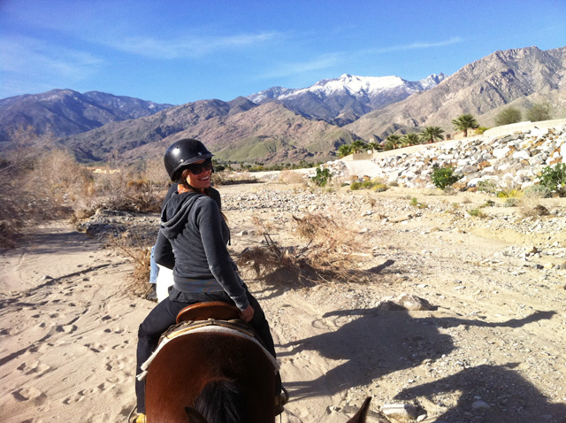 Concrete Flower: 110315: Palm Springs: Horses, Trails, Canyons & a Desert Oasis