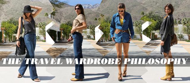 Concrete Flower: 110318: The Travel Wardrobe Philosophy